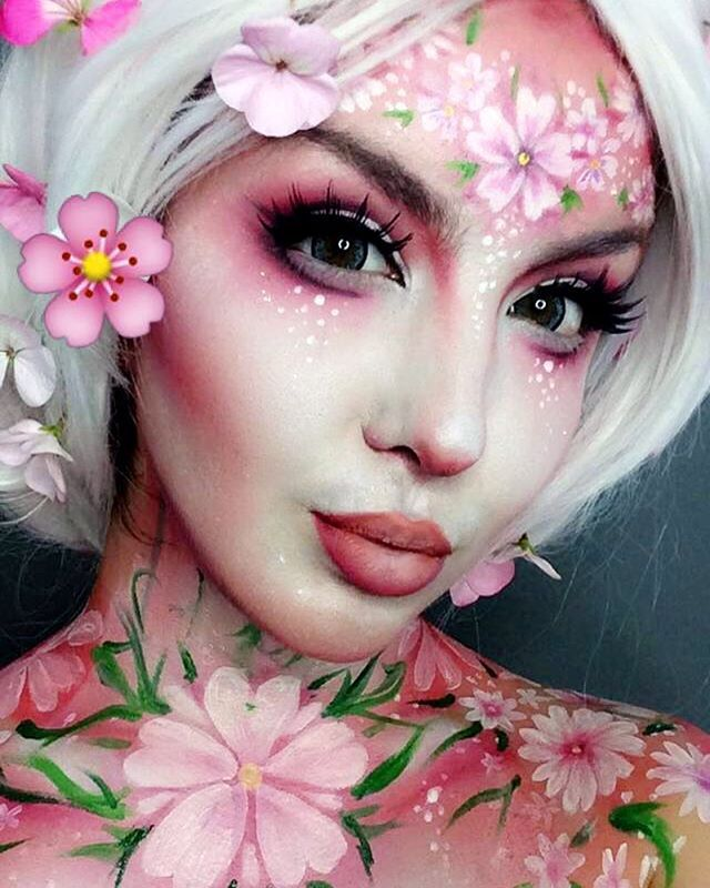 Close up of my Blossom Makeup Thanks for the overwhelming love on this look!