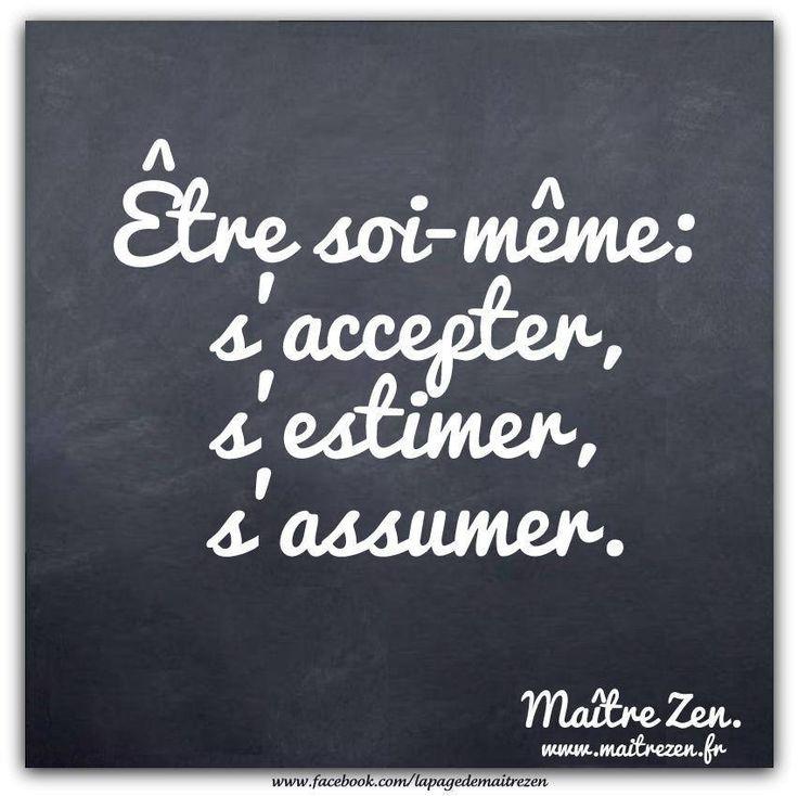 Etre soi-même! - Le site de Maître Zen