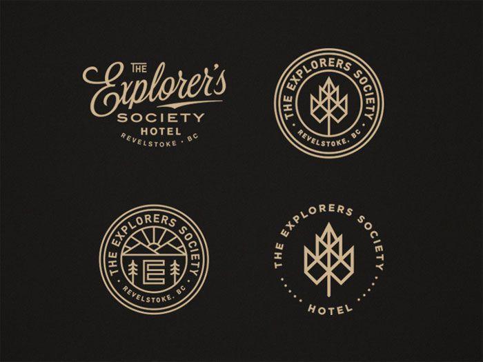 Badges 1 Badge Logo Design Ideas To Use As Inspiration In 2020 Vintage Logo Design Hotel Logo Hotel Logos Branding