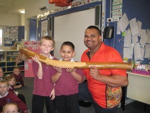 Kindergarten explore NAIDOC week - Warnervale Public School