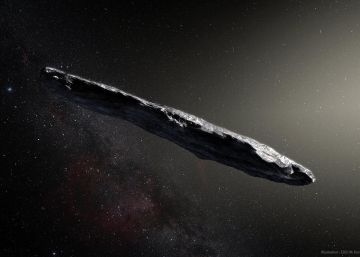 Así es Oumuamua el mensajero que llegó el primero