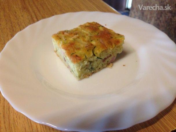 Slaný cuketový koláč - Recept