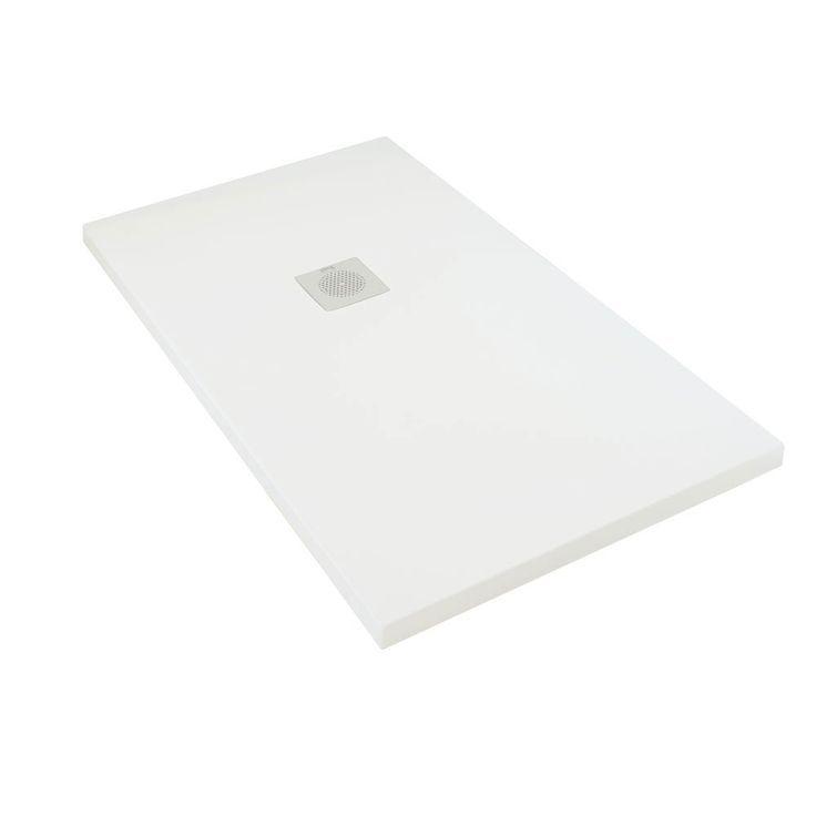 Plato de ducha extraplano de resina, modelo Impact.