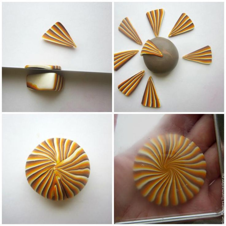 """Lepim """"lenticels"""" of polymer clay: 9 interesting variations of color…"""