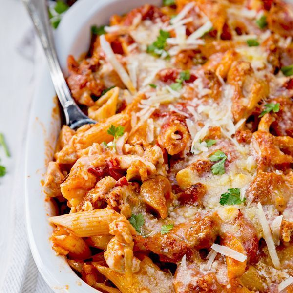 Easy healthy baked pasta recipes