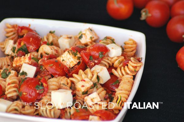 Tomato Feta Pasta Salad: Italian Recipes, Pastasalad, Italian Food, Feta Pasta, Pasta Salad, Pasta Dishes, Italian Pasta, Tomatoes Feta, Favorite Recipes