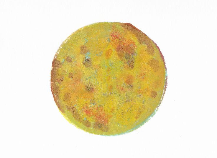 This is no Moon (2015) Monotype.