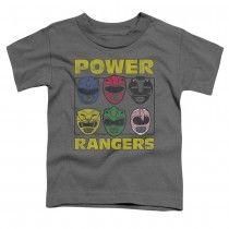 Power Rangers Heads Toddler T-Shirt
