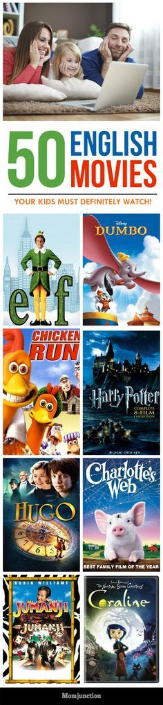 Do you want new ideas for the next movie night with your kid? Here is the list of top 50 English movies for children. Choose the best & enjoy with your kid