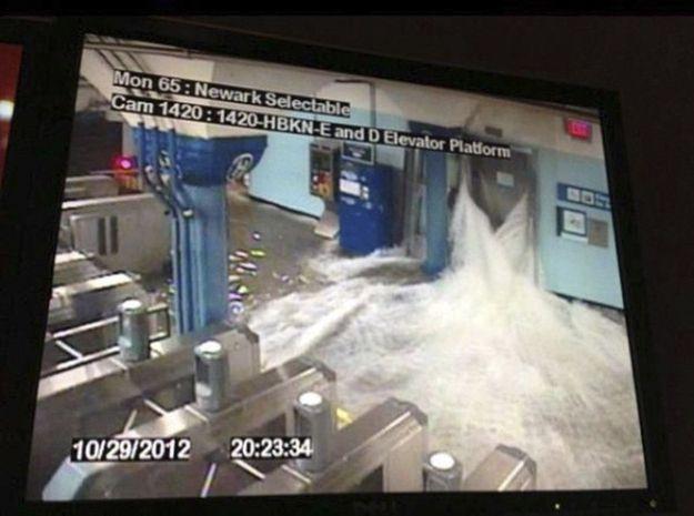 Hoboken | 25 Incredible Pictures Of Hurricane Sandy's Destruction In New Jersey