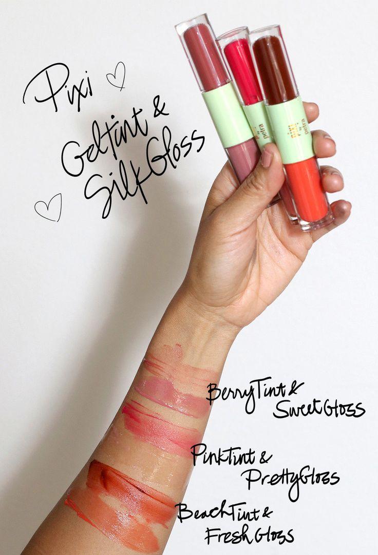 Pixi GelTint & SilkGloss: Lovin' These Lush, Lo... http://www.makeupandbeautyblog.com/cosmetics/pixi-geltint-silkgloss-lip-gloss-review/?utm_campaign=crowdfire&utm_content=crowdfire&utm_medium=social&utm_source=pinterest