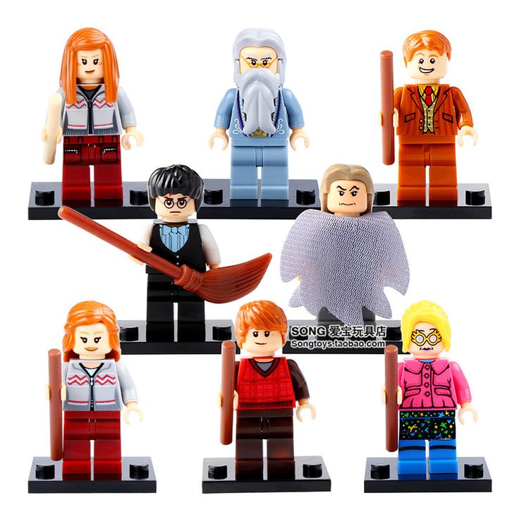 Cheap kids toys, Buy Quality toys toys directly from China toys toys toys Suppliers: 8pcs HARRY POTTER Movie Dumbledore Death Eater Luna The Hogwarts Express Hermione Building minifig Blocks Bricks Kids Toys