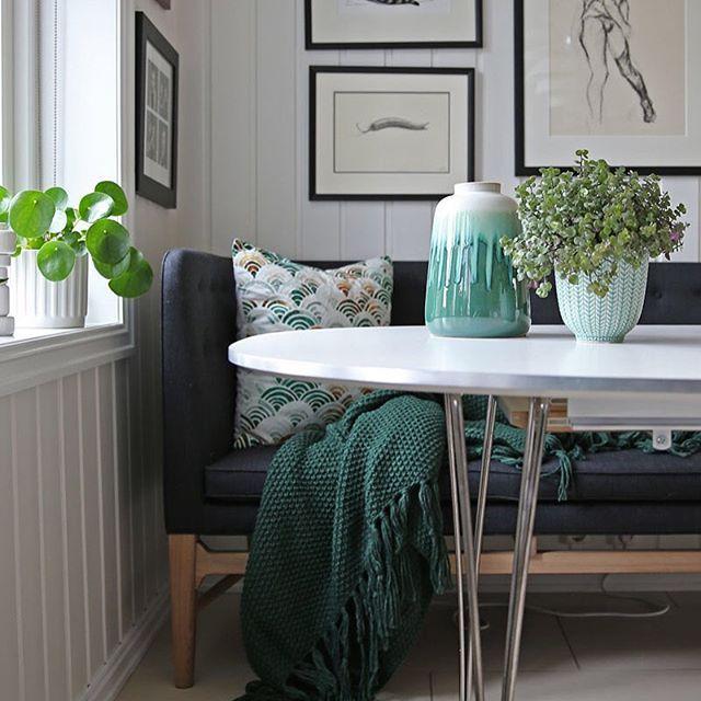 Dining - Scandinavian home #mayorsofa #superellipsetable #scandinaviandesign
