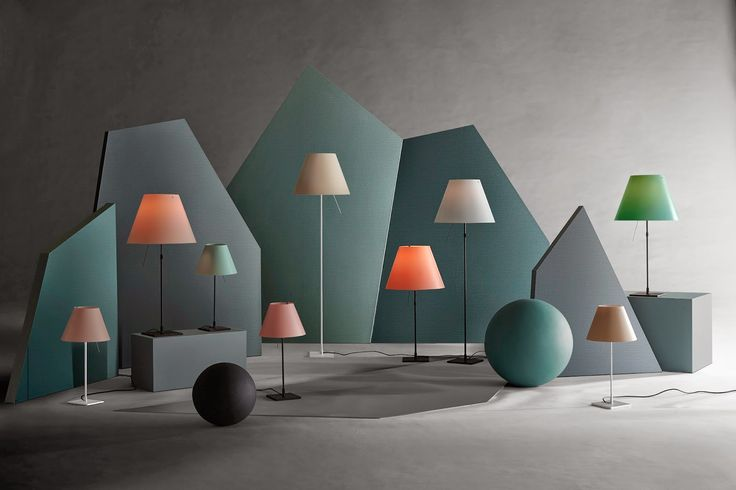new colors for the luceplan costanza lamp // Pand10 // www.pand10.com