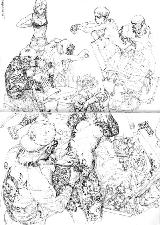 Kim Jung Gi - Illustratore e comic book artist coreano