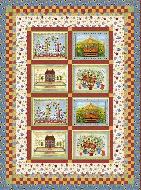 73 best Quilt Center Panels images on Pinterest | Quilt ...