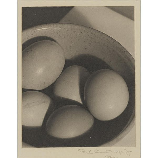 Paul Outerbridge, Jr. , 1896-1958 eggs and bowl
