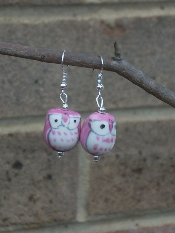 OWL be seeing you in the pink! by Paula Trueman on Etsy