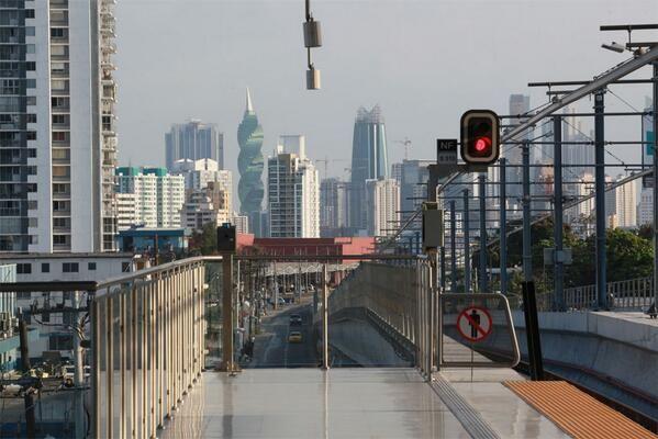 Panama City and one of the subway station. www.casademontana.com
