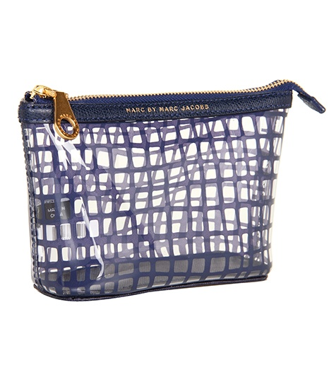 A perfect clear makeup bag for all those carryon beauty products