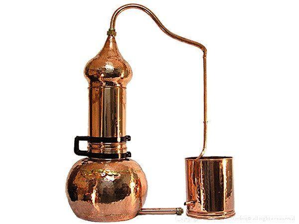 Alembic Distiller With Rotating Column #distillation #copper #alembic #distiller #essential oil #hydrosol