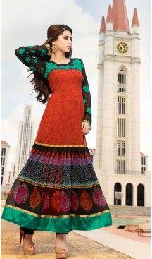 #Red #Georgette #Long Lenght Pakistani Anarkali Salwar Kameez   FH432468658 #anarkali , #salwar , #kameez , #dresses , #suits , #designer , #colors , #pinterest , #Shopping , #fashion , #boutique , #online , #heenastyle , #indian , #style , @heenastyle , #churidar , #likes , #abaya , #pakistani, #clothing , #womens , #mens , #kids , #boys , #girls