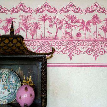 Wallpaper - Cole & Son - Folie - Rousseau Border - Paint & Paper Ltd