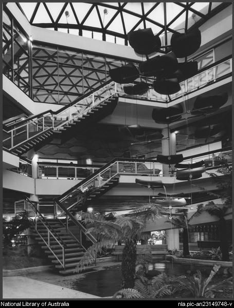 Sievers, Wolfgang, 1913-2007. Miranda shopping centre, Sydney, architects: Tomkins, Shaw & Evans (2) [picture]