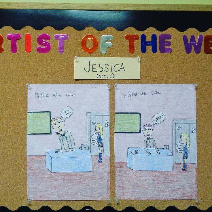 The artist of the week! #NSA #Art #NSAArt