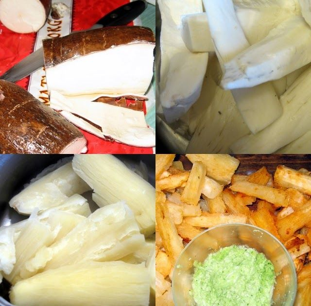 This is Shaheen's recipe, it is  a 'no fry' , healthy recipe     Ingredients  1 large tuber of cassava (or 1 pkt frozen cassava)  Juice of ...