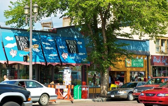 A Summer Stroll on Old Strathcona's Whyte Avenue