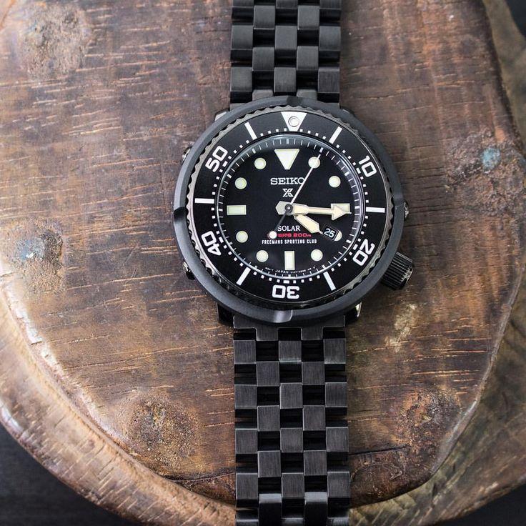"""いいね!183件、コメント9件 ― Strapcode Watch Strapさん(@strapcode)のInstagramアカウント: 「The new model Seiko Solar Prospex Scuba Diver #SBDN029 """"Freemans Sporting Club"""" on #MiLTAT 22mm…」"""