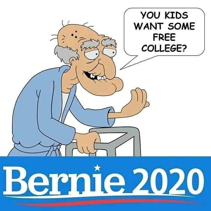 Image result for Bernie sanders crazy old man