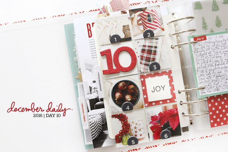 December Daily® 2016 | Day 10
