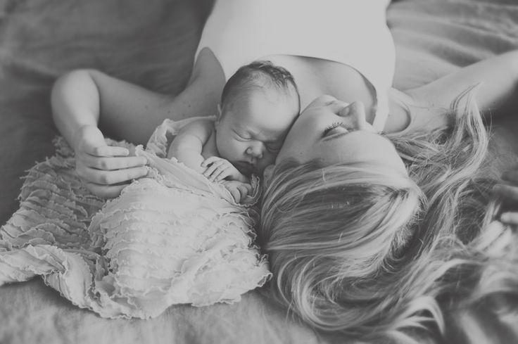 baby girl newborn picture idea