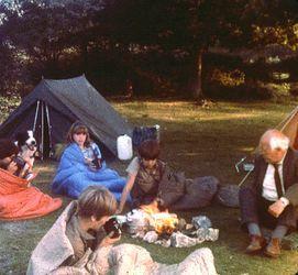 Viewmaster-Bild aus 'Fünf Freunde im Zeltlager'