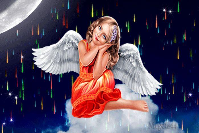 как ангелки картинки гиф левой руке задиристого