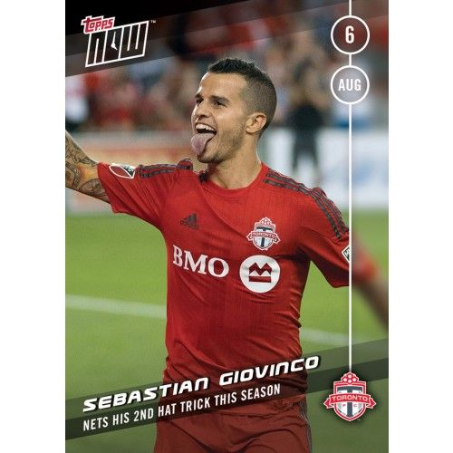 Sebastian Giovinco - TOPPS NOW CARD 14 - PRINT RUN QTY: 80 Cards