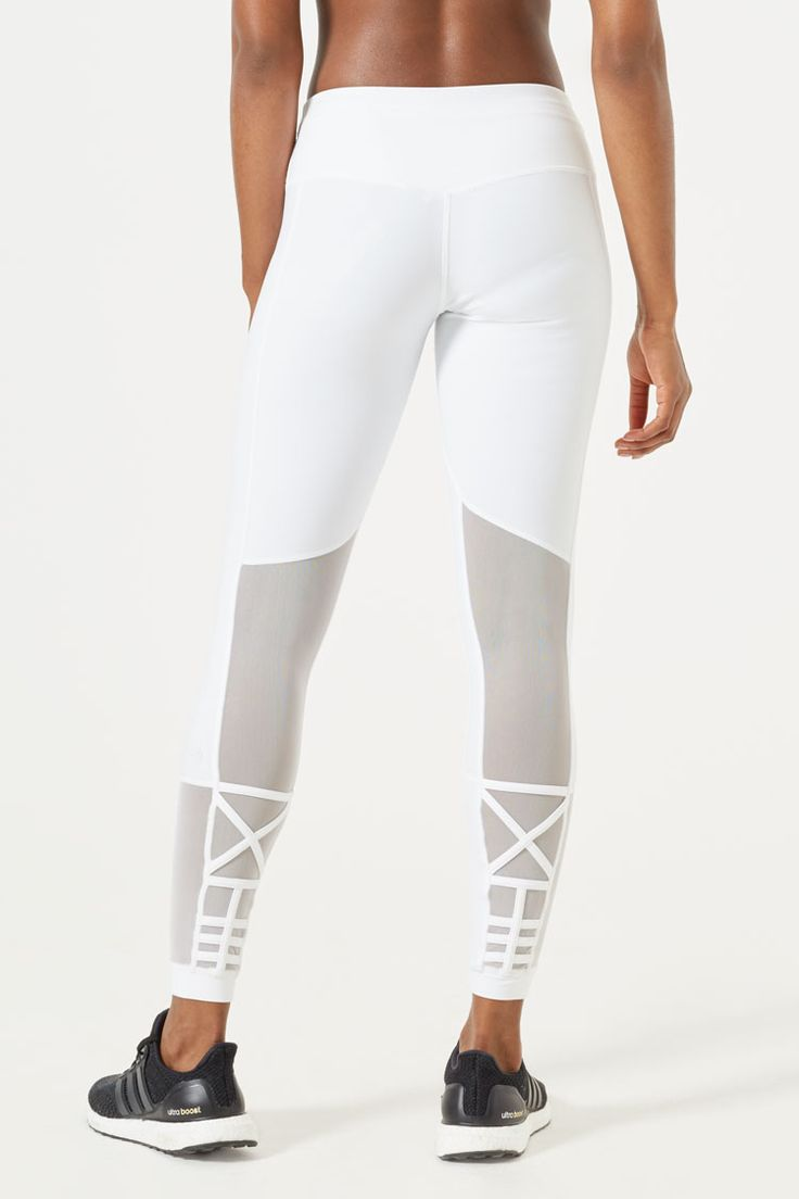 Put away basic black - pull on the uber-flattering Decode tight in white from the MPG x Julianne Hough collection.