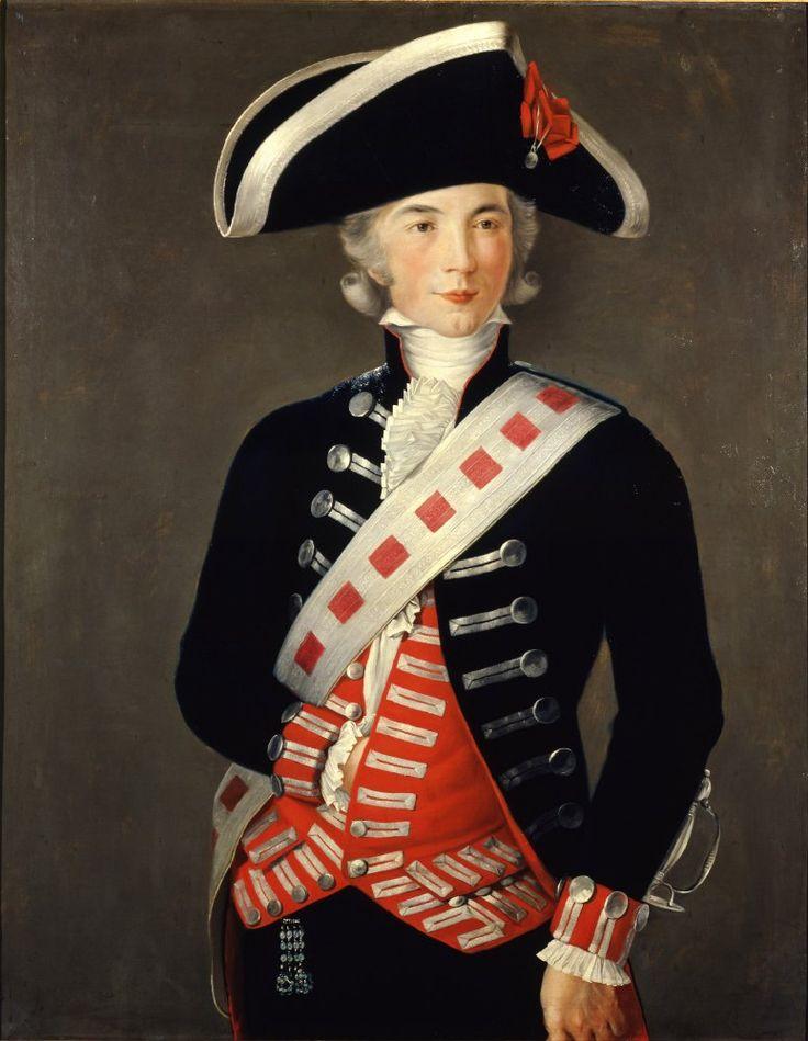 Retrato de Godoy joven, h. 1788 Francisco Folch de Cardona Museo de la Real Academia de Bellas Artes de San Fernando