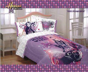 Hannah Montana Bedding Set Purple