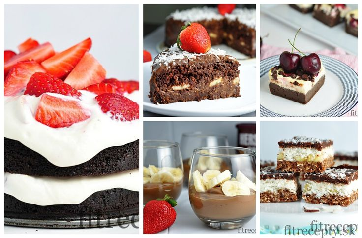TOP 10 zdravých čokoládových/kakaových receptov - FitRecepty
