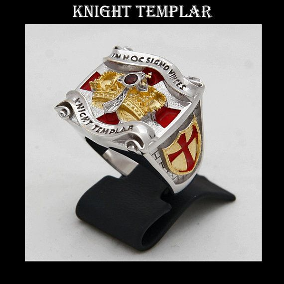 Knight Templar Masonic Ring