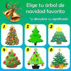 DE TODO UN POCO: El test de los árboles de navidad.