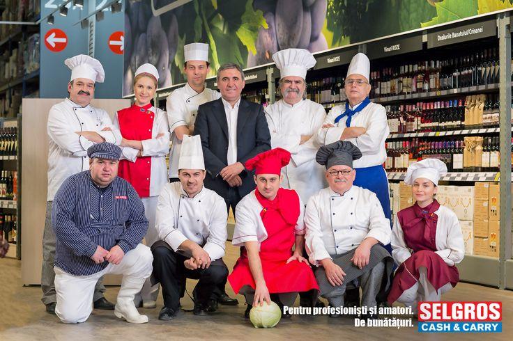 """http://www.iqads.ro/articol/31707/selgros-pentru-profesionisti-si-amatori-de-bunataturi-o-noua-campanie-gav    Selgros Cash&Carry Romania a demarat o campanie integrata cu executii pentru TV, digital, radio si outdoor creata si produsa de GAV, sub umbrela de comunicare """"Selgros - pentru profesionisti si amatori. De bunataturi."""""""