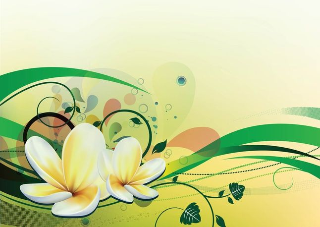 Water Lily Vector free