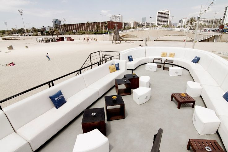 Ref 165 Restaurant lounge beach #locationsbarcelona #localizacionesbarcelona #loftlocation