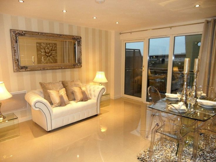 What A Stunning Living Room Design With The Use Of Marble Effect Porcelain Tiles Tilesporcelaincouk T800 Cream Slight