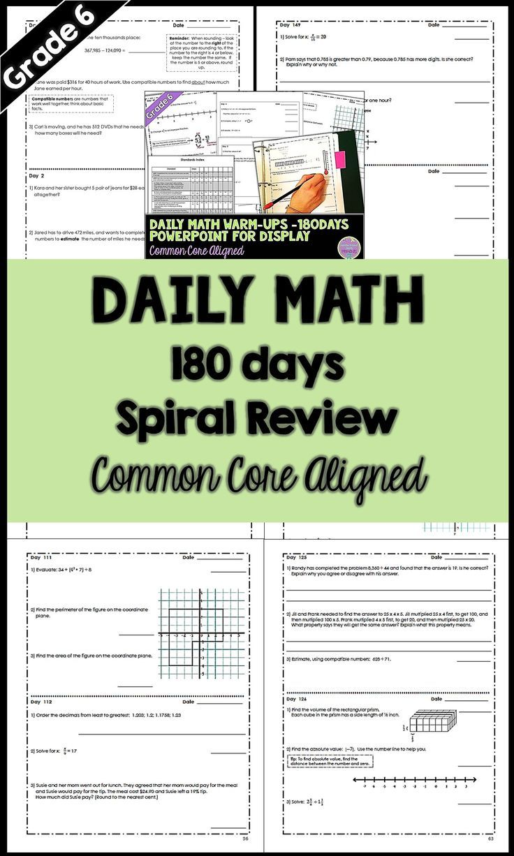 21836 Best Math For Sixth Grade Images On Pinterest