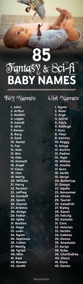 85 Fantasy And Sci-fi Baby Names